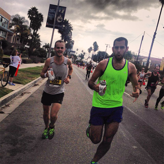 Long Beach Marathon mile 25