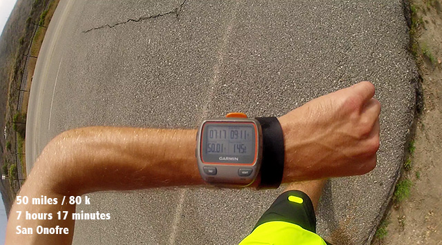 Garmin watch Ultra Running