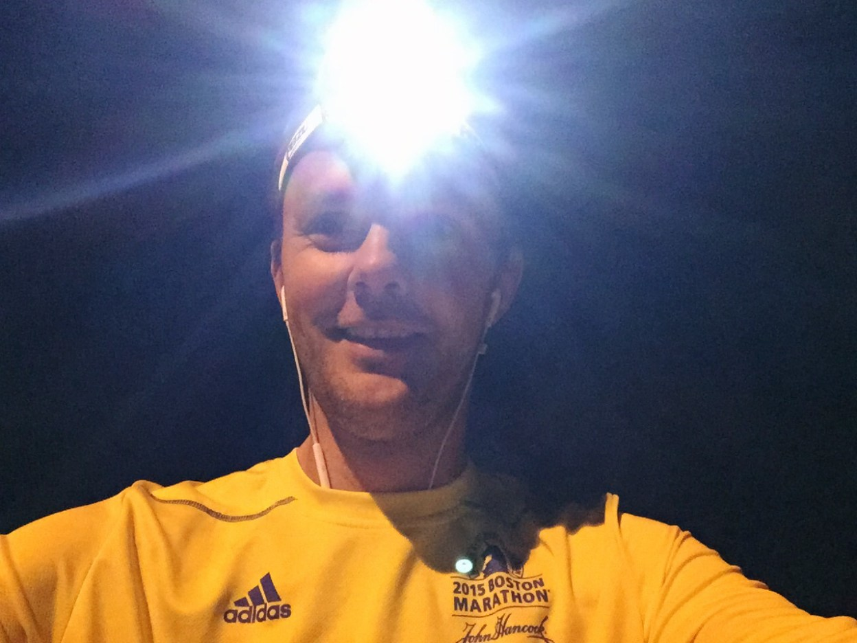 My night runs with Petzl Tikka RXP headlamp